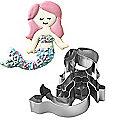 Mermaid Swimming Cookie Cutter