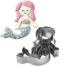 Mermaid Swimming Cookie Cutter
