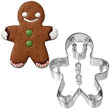Gingerbread Man Cookie Cutter 7.5cm
