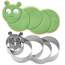 Caterpillar Cookie Cutter