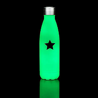 Glow in the Dark Insulated Drinks Bottle 500ml alt image 2