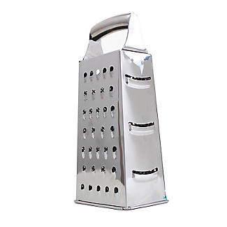 Lakeland 4-Sided Slice and Grate Stainless Steel Box Grater alt image 2
