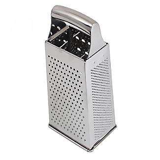 Lakeland 4-Sided Slice and Grate Stainless Steel Box Grater alt image 4
