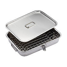 Kitchen Craft Home Made Stainless Steel Smoking Oven with Lid