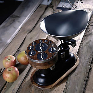 Natural Elements 8-Piece Imperial Weight Set with Wood Stand alt image 2