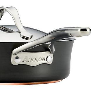 Anolon Nouvelle Copper 20cm Lidded Saucepan 3.8L alt image 4