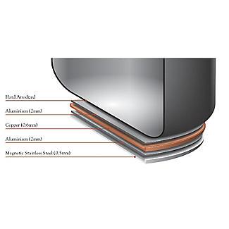 Anolon Nouvelle Copper 24cm Lidded Stockpot 7.6L alt image 6
