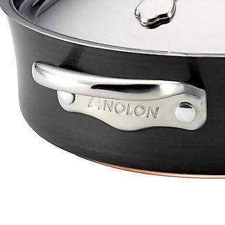 Anolon Nouvelle Copper 3-Piece Lidded Saucepan Set alt image 6