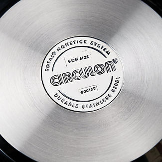 Circulon Ultimum Stainless Steel 24cm Lidded Stockpot 5.7L alt image 2