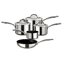Circulon Ultimum Stainless Steel 5-Piece Pan Set