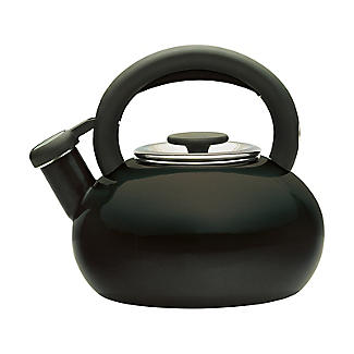 Prestige 1.4L Whistling Stove Top Kettle Black