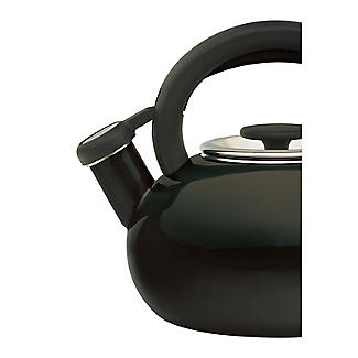 Prestige 1.4L Whistling Stove Top Kettle Black  alt image 2