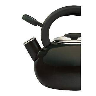 Prestige 1.4L Whistling Stove Top Kettle Black  alt image 3