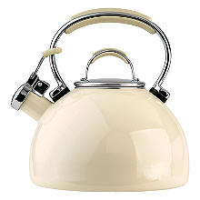 Prestige 2L Whistling Stove Top Kettle Almond Cream