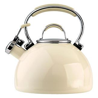 Prestige 2L Whistling Stove Top Kettle Almond Cream