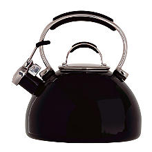 Prestige 2L Whistling Stove Top Kettle Black
