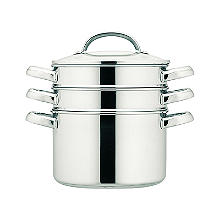 Prestige 20cm Stainless Steel Multi-Steamer 3.8L