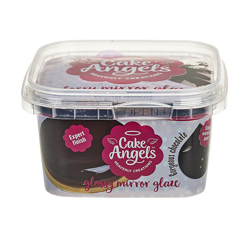 Cake Angels Ready To Use Glossy Chocolate Mirror Glaze 270g
