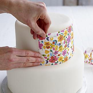 Cake Angels Cake Art Floral Edible Cake Decorating Wafer Paper 12g alt image 3