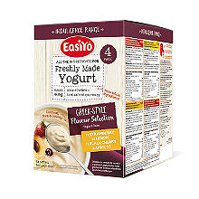EasiYo Indulgence Greek Style Flavour Selection Pack Yogurt Mix x 4