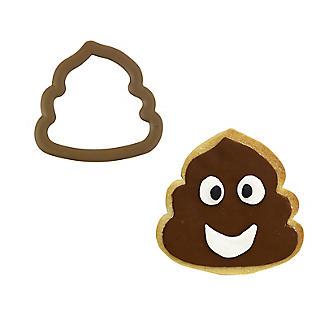Rosanna Pansino by Wilton Swirl Comfort Grip Emoji Poo Cookie Cutter