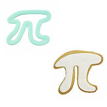 Rosanna Pansino by Wilton Pi Symbol Comfort Grip Cookie Cutter
