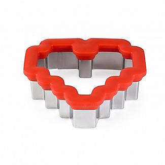Rosanna Pansino by Wilton 8-Bit Heart Comfort Grip Cookie Cutter alt image 2