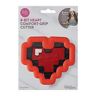 Rosanna Pansino by Wilton 8-Bit Heart Comfort Grip Cookie Cutter alt image 9