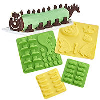 Lakeland Silicone Caterpillar Mould Set to Decorate Caterpillar Cakes