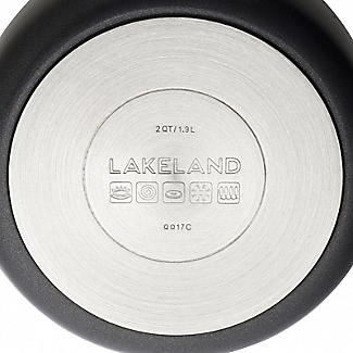 Lakeland Hard Anodised Bell Shaped 16cm Saucepan alt image 6