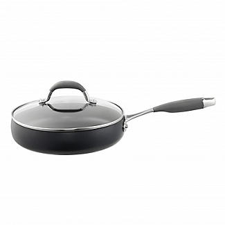 Lakeland Hard Anodised Bell Shaped 24cm Saute Pan
