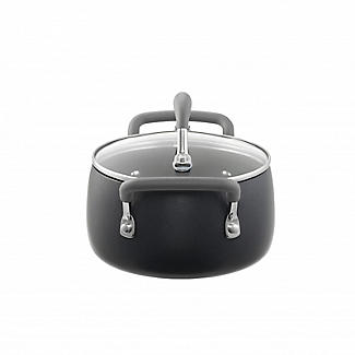 Lakeland Hard Anodised Bell Shaped 16cm Casserole Pan alt image 4