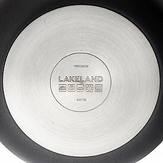 Lakeland Hard Anodised Bell Shaped 28cm Frying Pan alt image 5