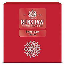 Renshaw Petal Icing Paste White 3 x 100g