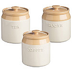 Mason Cash Original Cane Storage Jar Trio