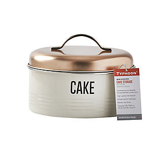 Typhoon Vintage Copper Cake Storage Tin 3.8L alt image 2