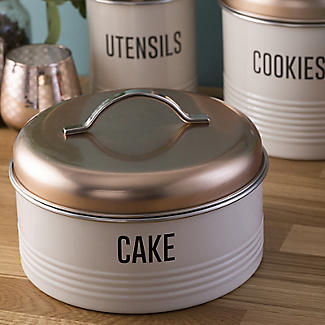 Typhoon Vintage Copper Cake Storage Tin 3.8L alt image 4