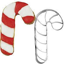 Striped Candy Cane Cookie Cutter 7cm