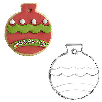 Christmas Bauble Cookie Cutter 6.5cm