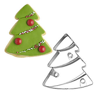 Traditional Christmas Tree Cookie Cutter
