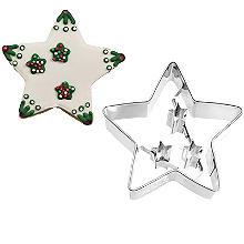 Christmas Star Cookie Cutter 6.5cm