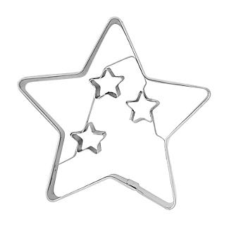 Christmas Star Cookie Cutter 6.5cm alt image 3