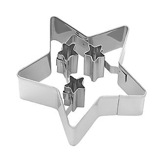 Christmas Star Cookie Cutter 6.5cm alt image 4