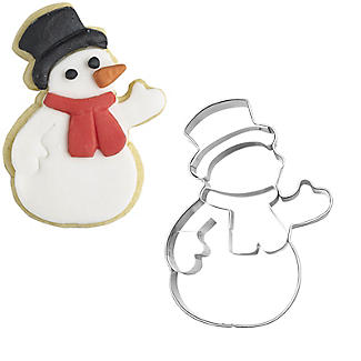 Waving Snowman Cookie Cutter