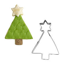 Geometric Christmas Tree Cookie Cutter