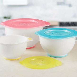 Rosanna Pansino by Wilton Nesting Lidded 3 Mixing Bowl Set alt image 8