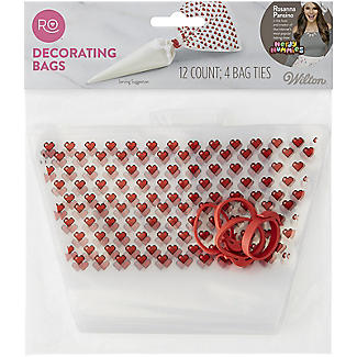 Rosanna Pansino by Wilton Patterned Disposable Icing Bags Pack of 12 alt image 7