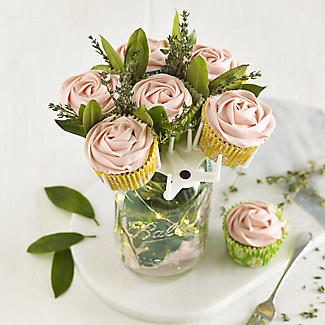 Mason Jar Cupcake Bouquet Holder alt image 10