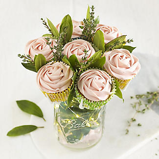 Mason Jar Cupcake Bouquet Holder alt image 9