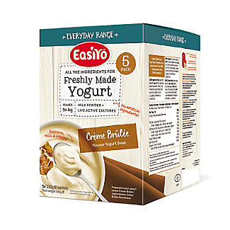 EasiYo Everyday Crème Brûlée Flavour Yogurt Mix x 5